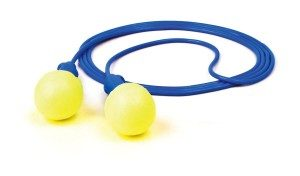 Corded ear plugs with string